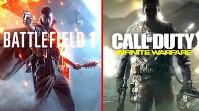 חרף הדיווחים על מכירות חלשות: Call of Duty: Infinite Warfare בראש טבלת המכירות בבריטניה; Battlefield 1 ממשיך לבלוט