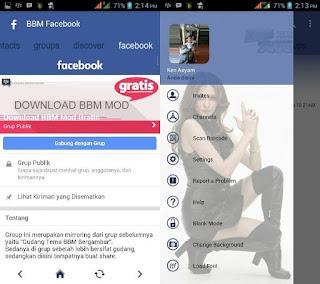 BBM Mod Facebook Theme v3.2.3.11 2017