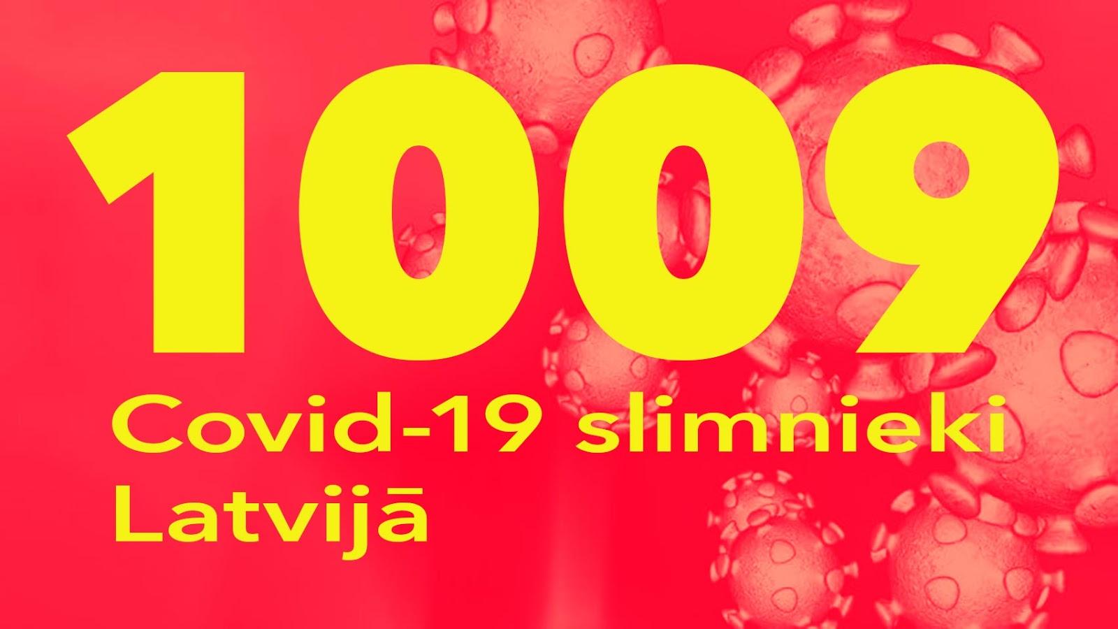 Koronavīrusa saslimušo skaits Latvijā 18.05.2020.