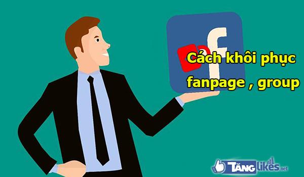 cach khoi phuc fanpage facebook bi khoa