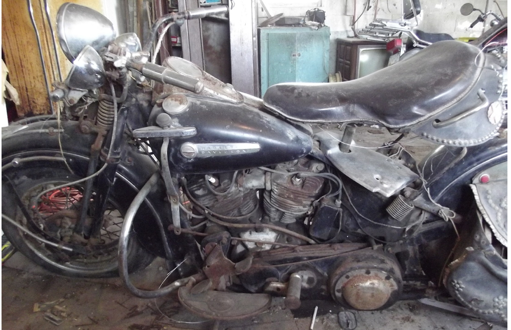 Vintage Bike Addiction Barn Find Knuckleheads