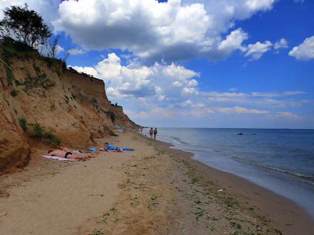 Plaża nieopodal Odessy