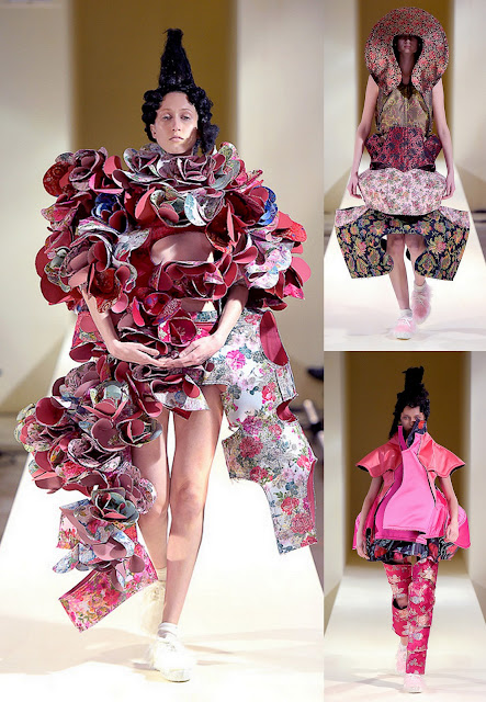 Comme des Garçons Fall 2016 PFW_Cool Chic Style Fashion