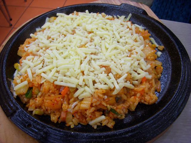 recette facile de paella au fromage