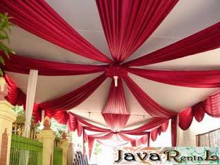 Sewa Tenda Semi Dekor - Penyewaan Tenda Semi Dekor Pesta