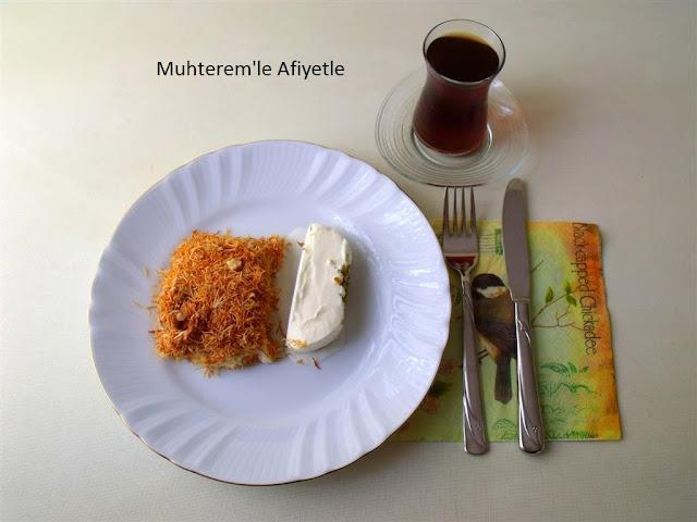 iftar için tatlı tarifi