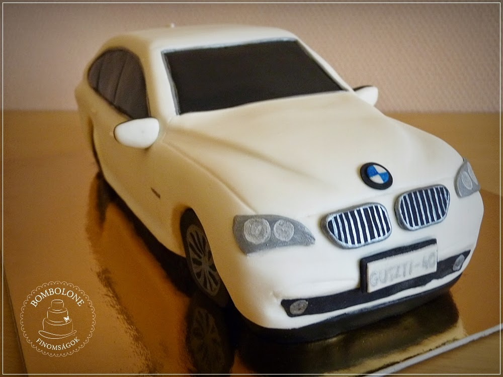 bmw torta képek Bombolone: A BMW torta bmw torta képek
