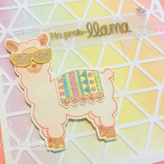 Newton's Nook Designs Loveable Llamas Set - Naki Rager