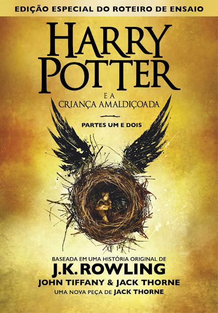 Harry Potter e a Criança Amaldiçoada J.K. Rowling
