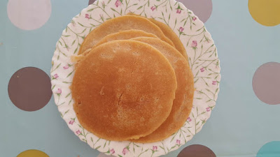 Easy cinnamon pancakes