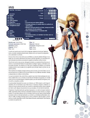 Superheroina Iris