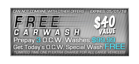 spring car wash deals