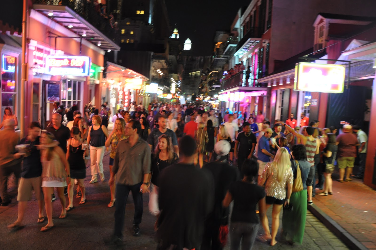 Backpacktress New Orleans The Better Bourbon Street