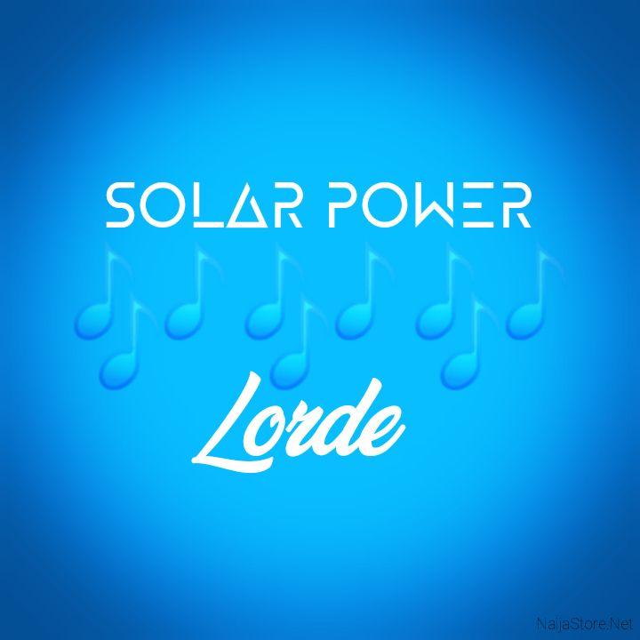 Lorde's Music: SOLAR POWER (Single-Track) - Chorus Song: Forget all of thе tears that you've cried.. Turn it on in a new kind of bright.. - Streaming/MP3 Download