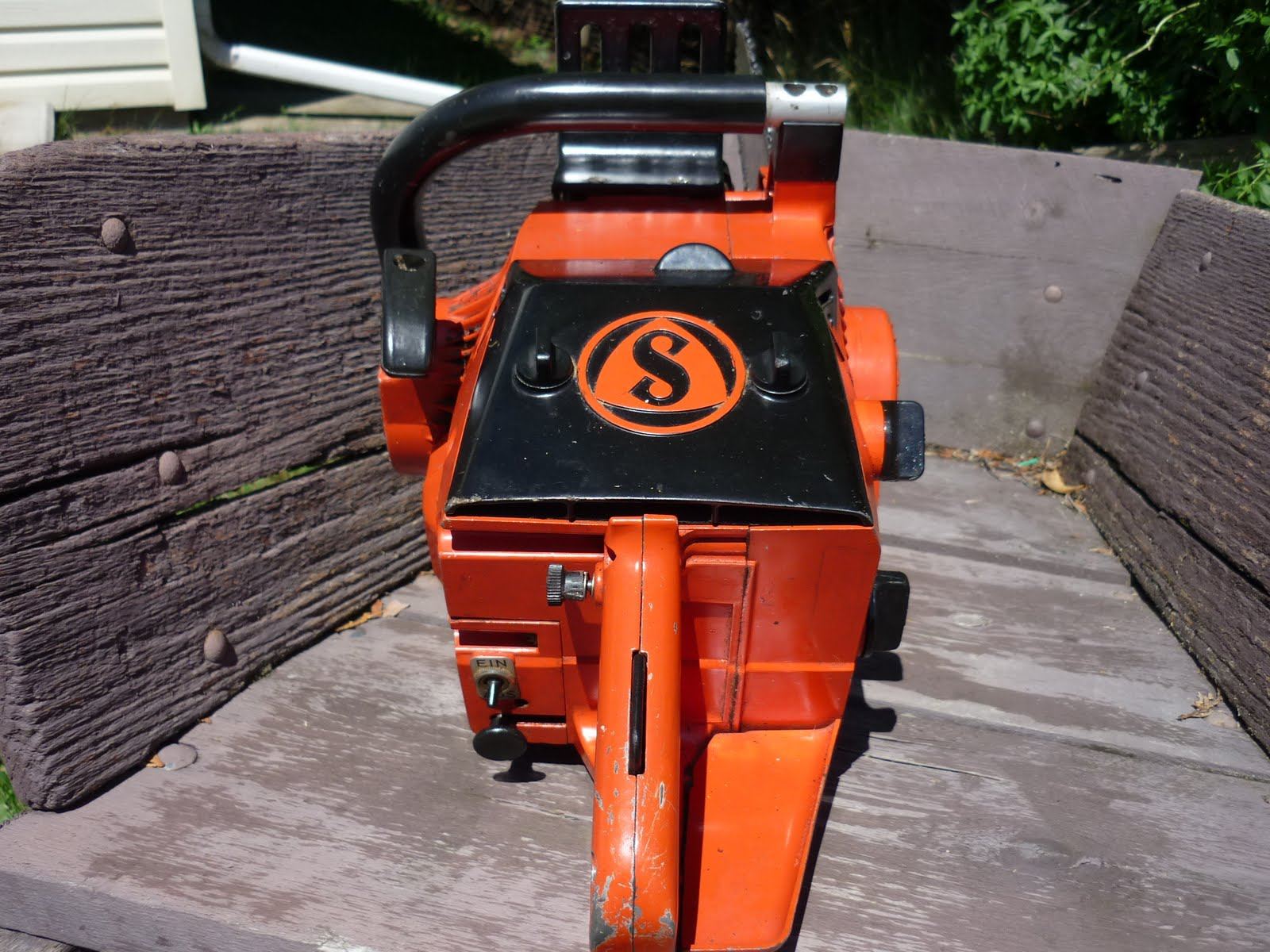 VINTAGE CHAINSAW COLLECTION: DOLMAR SACH/WANKEL/ROTARY KMS4