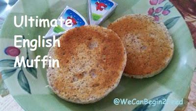 Ultimate English Muffin by @WeCanBegin2Feed