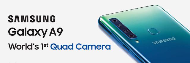 Samsung ने अपना नया Smart Phone मार्केट में लें जा रहा है {Samsung A9}