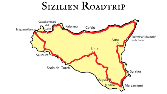Sizilien Roadtrip Reise