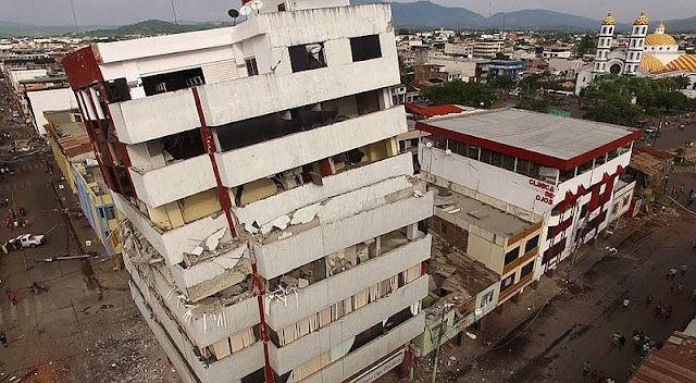imagenes terremoto ecuador