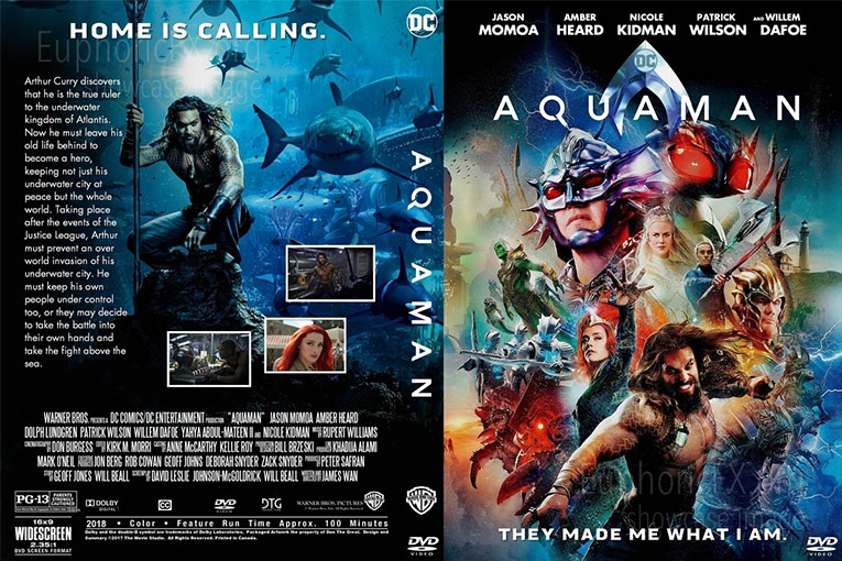 Aquaman (2018) 720p BrRip [Dual Audio] [Hindi 5.1+English]