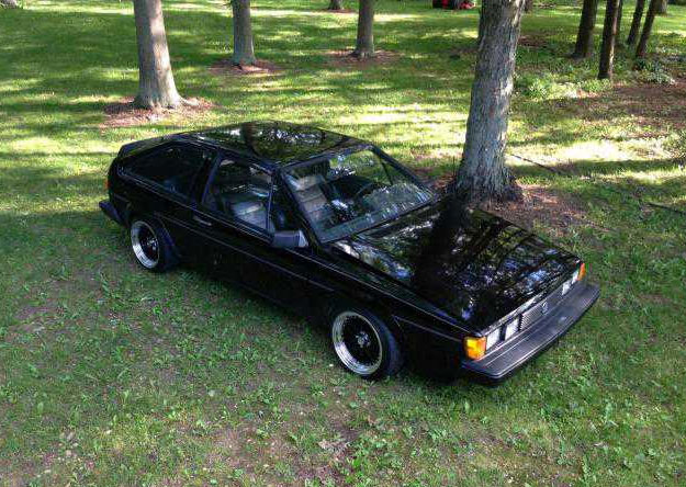 Vw Scirocco Usa >> Black Volkswagen Scirocco 1984 Volks Classic Trade
