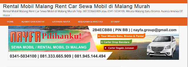 Sewa Mobil Malang by NAYFA Group