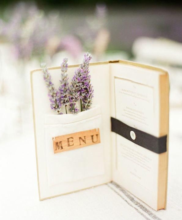Wedding Menu Ideas: Paper Wedding: 20 Unique Wedding Menu Ideas