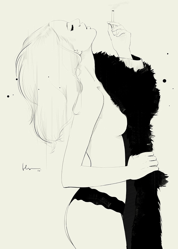 ©Floyd Grey (Ng Chun Fui) - Fashion Illustration