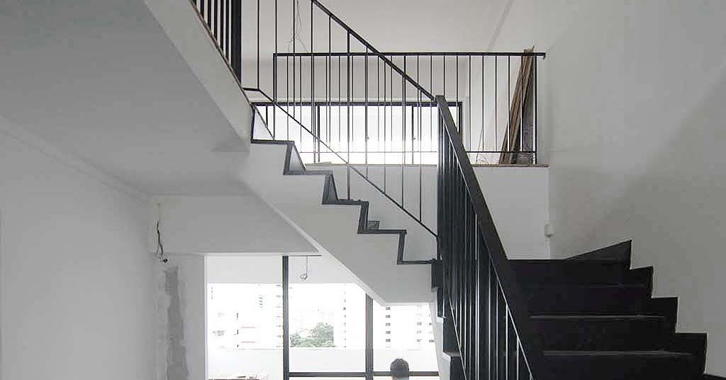 Butterpaperstudio Reno Geylang Maisonette Staircase