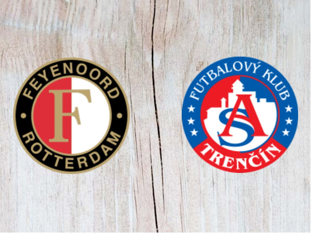 Feyenoord vs Trencin - Highlights - 16 August 2018
