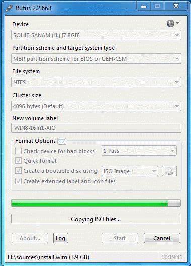 cara membuat bootable flashdisk windows 7 dengan rufus 3.4