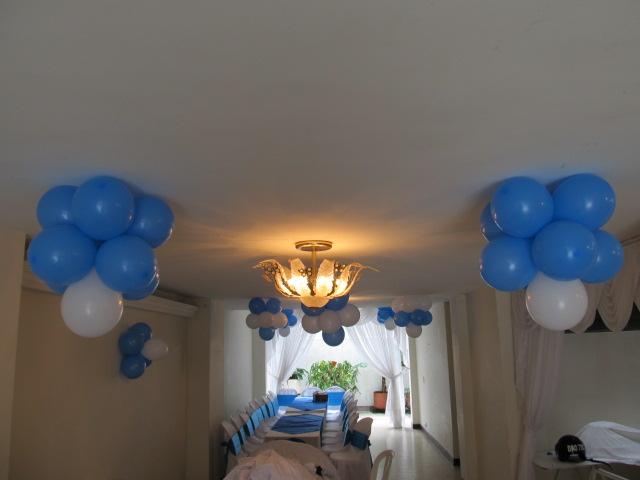Decoracion primera comunion con globos recreacionistas - Decoracion los angeles ...