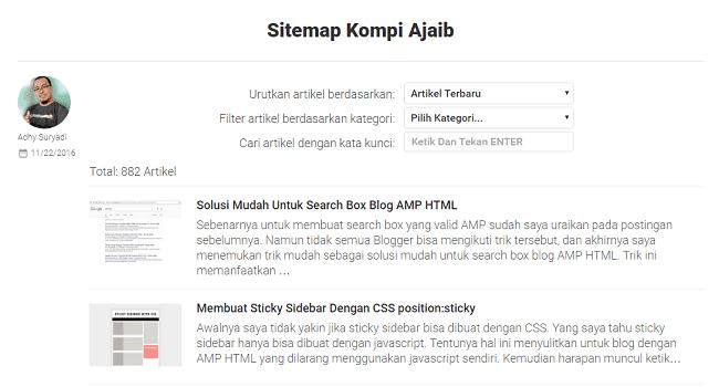 Membuat Sitemap Valid HTTP