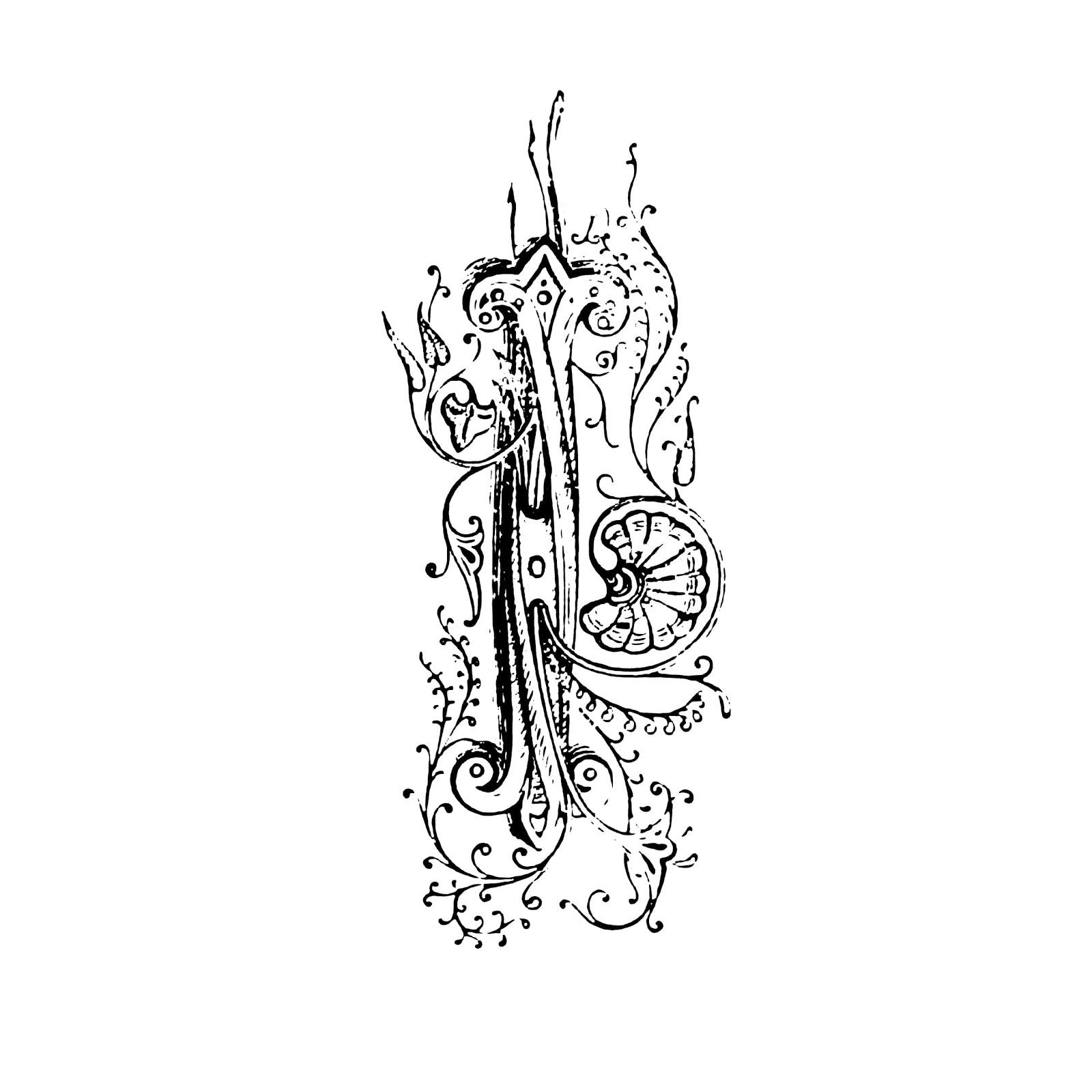 おしゃれでかわいい「門の金具用装飾柄」pop用テンプレート020イラスト
