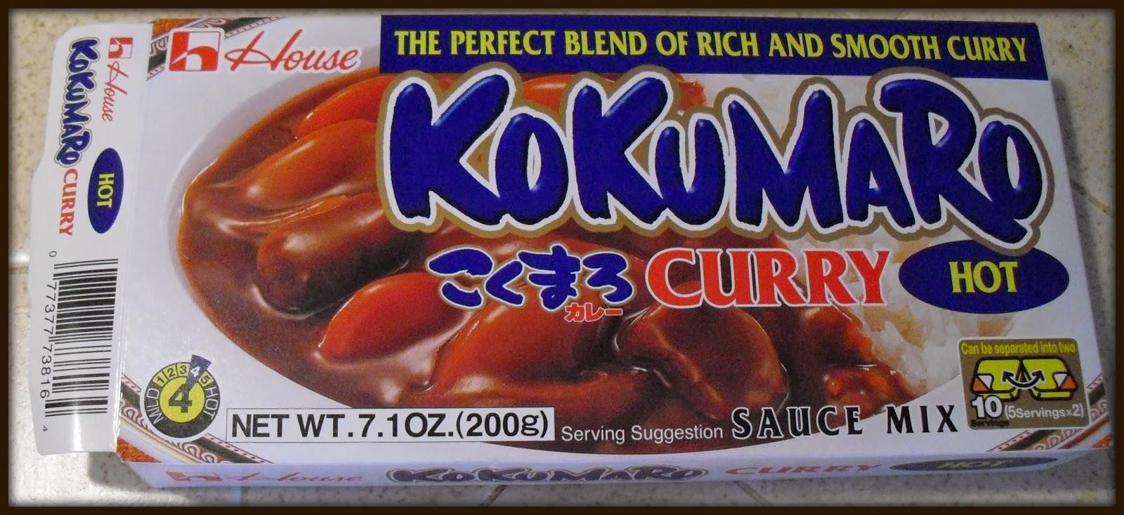 box curry sauce
