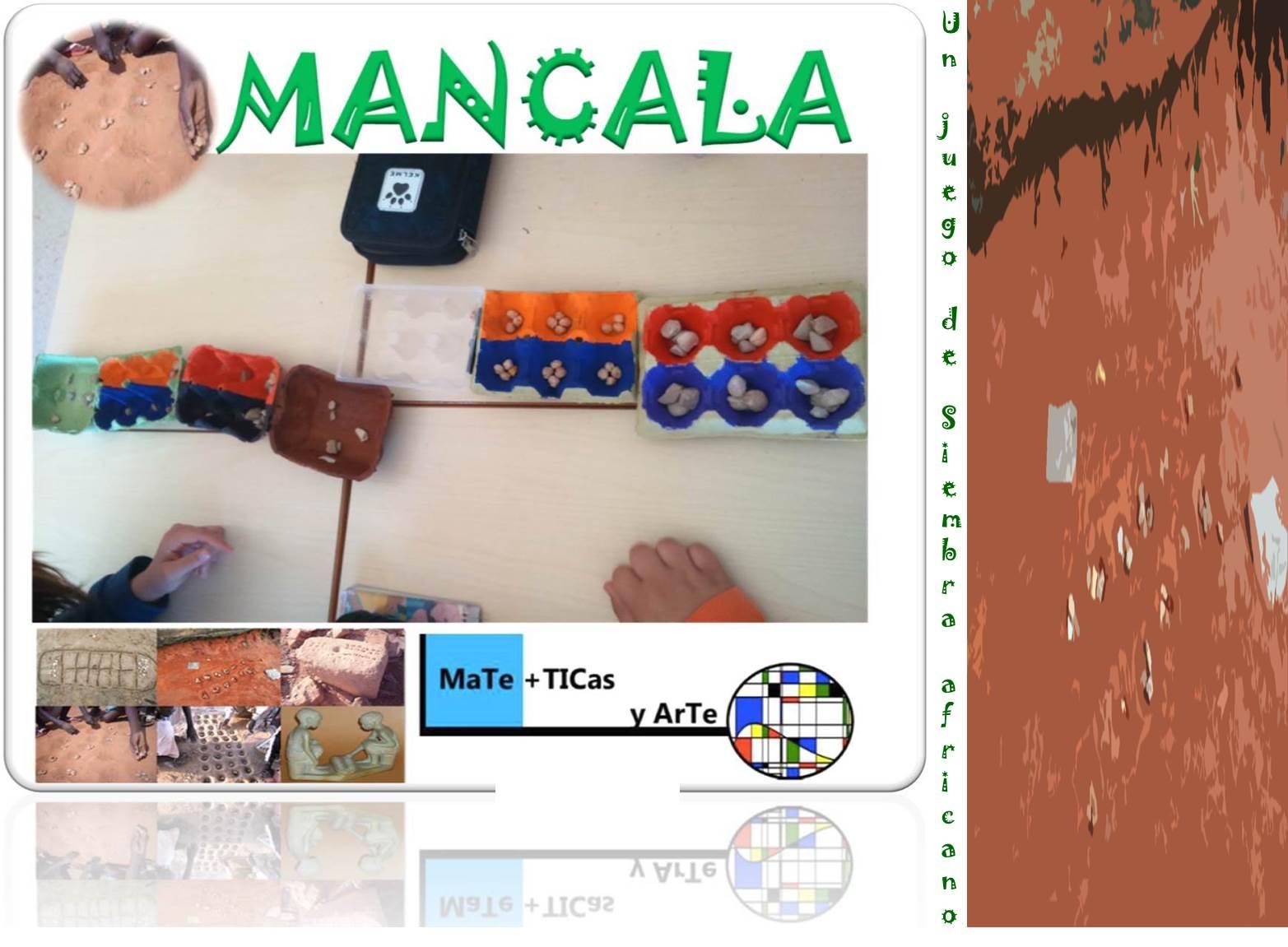 MaTe+TICas y ArTe: Mancala, un juego de siembra africano.