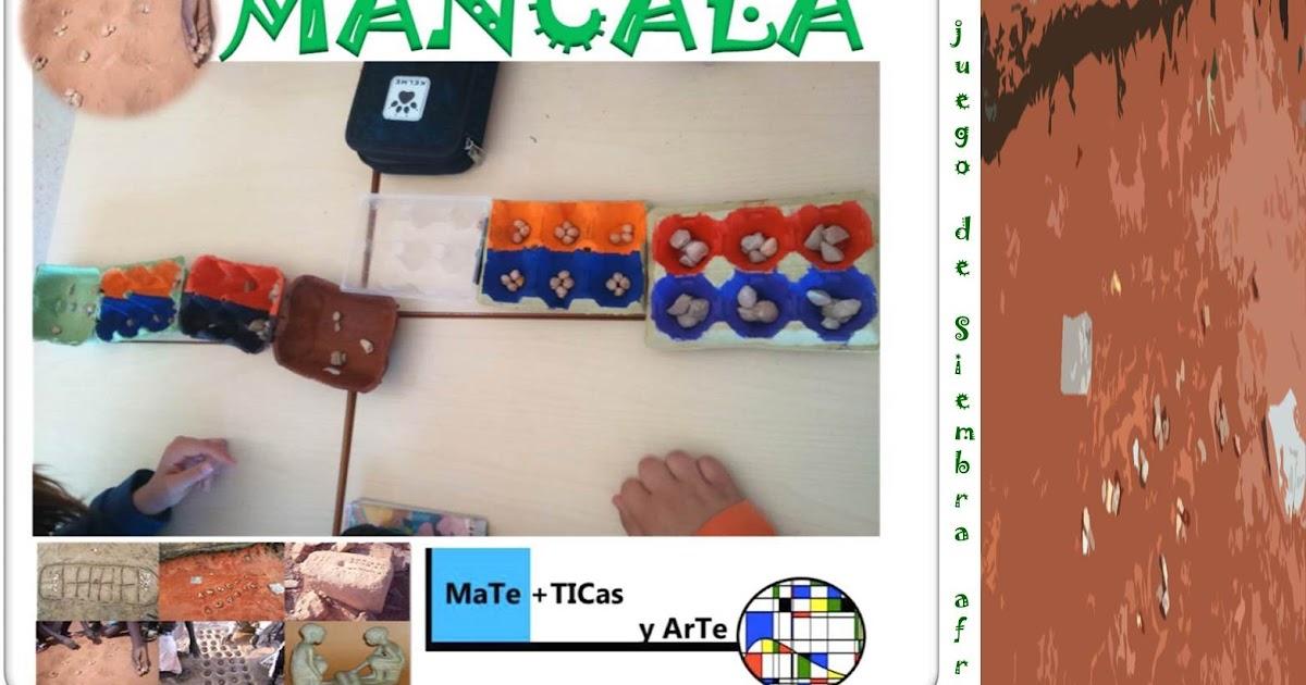 Mancala, un juego de siembra africano.