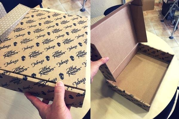 cajas para jamones