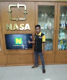 profil distributor resmi nasa
