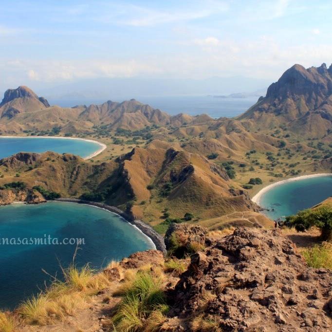 Pulau Padar Salah Satu Pulau Paling Terkenal di Linimasa Instagram