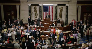 This Is How Wild Democrats' Sit-In Over Gun Control Got Wednesday Night