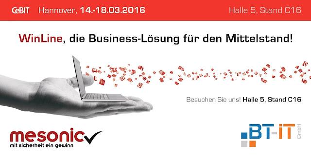 mesonic und BT-IT auf der Messe CeBIT 2016