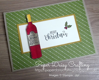 Stampin' Up! Half Full Christmas Card