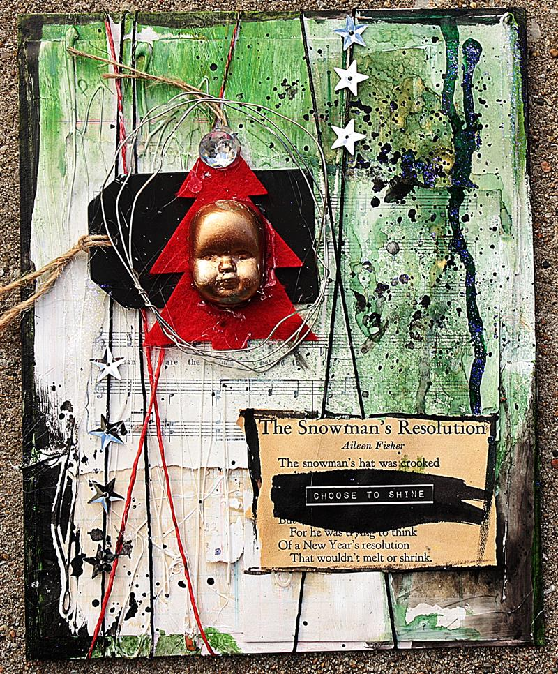 Mixed Media Place: December Challenge