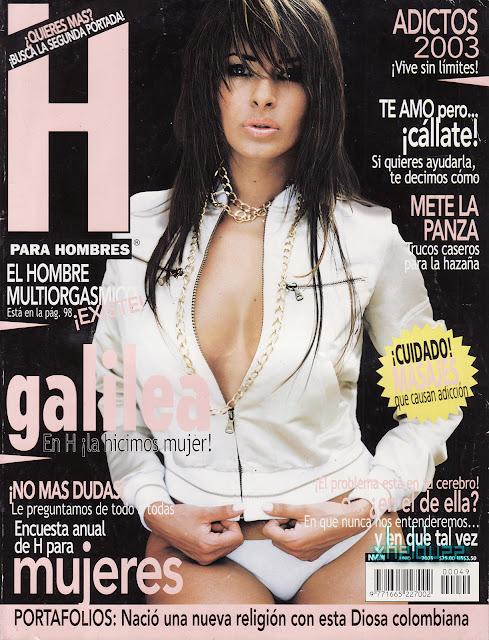 Galilea Montijo Revista H Junio 2003-solorevistah.com