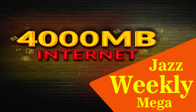 Jazz Weekly Mega | Jazz Internet Packages | Internet Plans