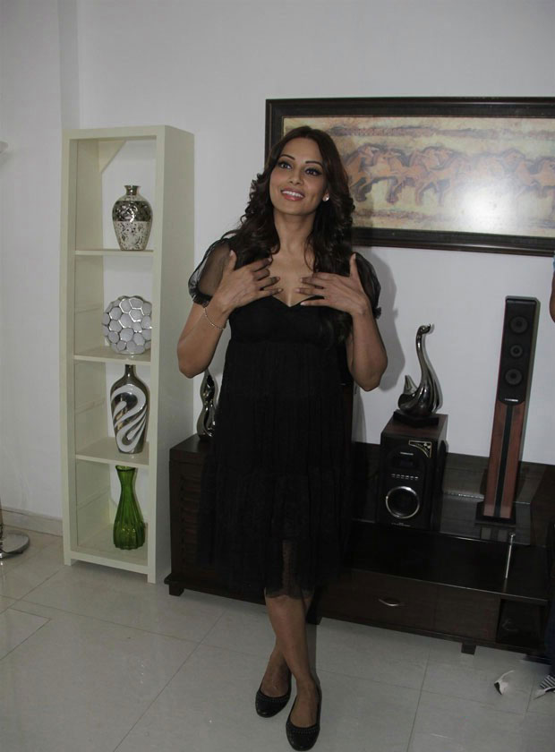 Bips in black dress