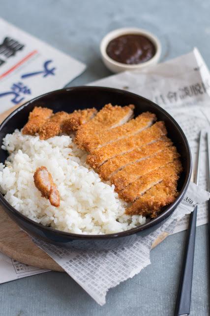 Escalope de porc croustillante à la coréenne - Donkasu