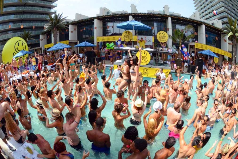 Marquee Day Club Pool Party Las Vegas