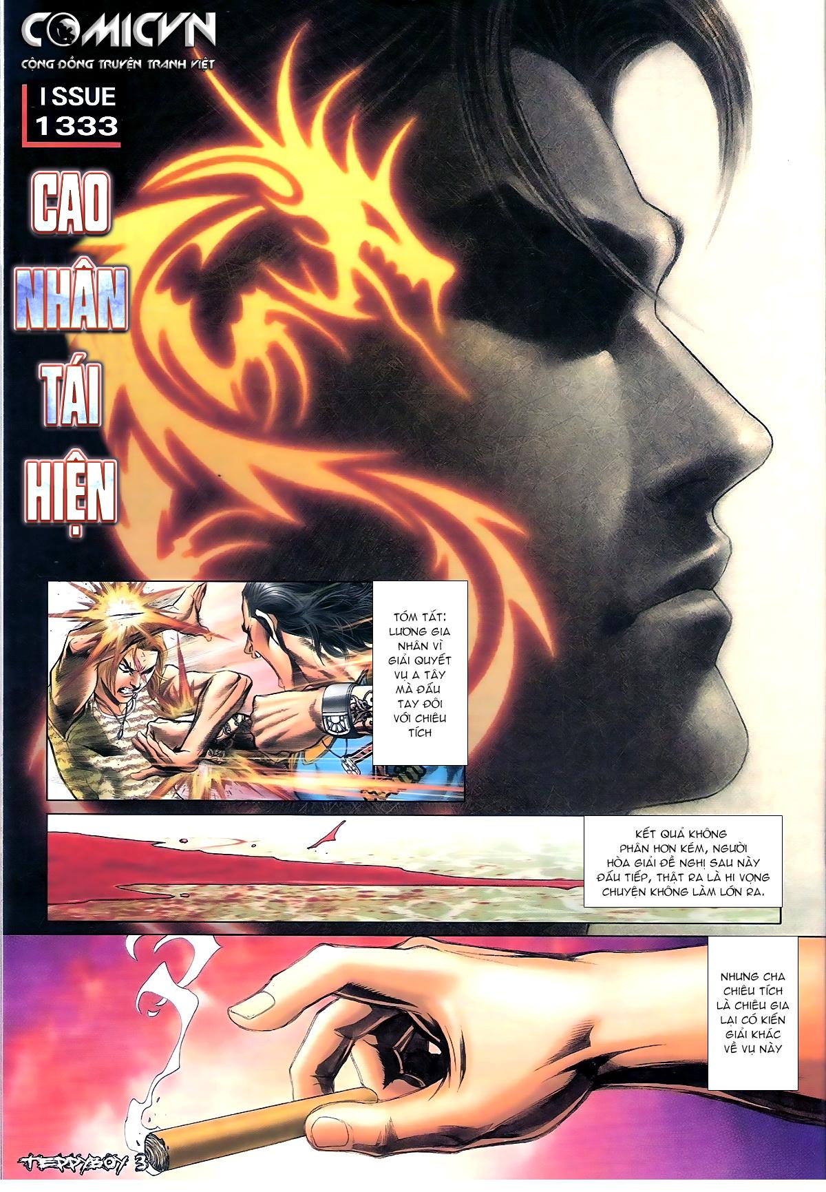 Người Trong Giang Hồ - Chapter 1333: Cao Nhân Tái Hiện - Pic 2